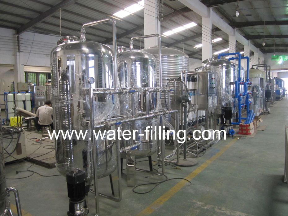 Reverse Osmosis Water filter Manufacture workshop