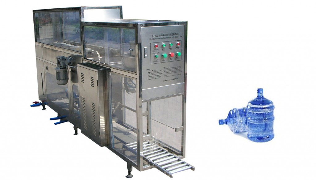 100BPH 5GALLON MINERAL WATER FILLING MACHINE