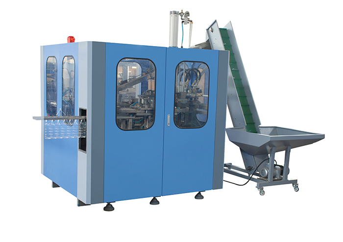 four cavity auto bottle blow molding machine