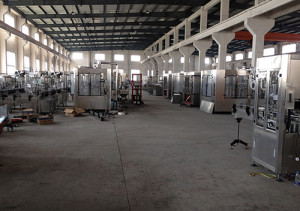 filling machine production factory