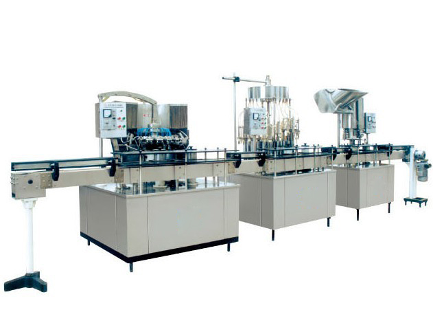 semi water filling machine