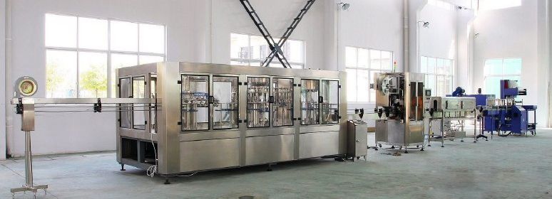 NEP-8000PH AUTOMATIC WATER BOTTLING LINE