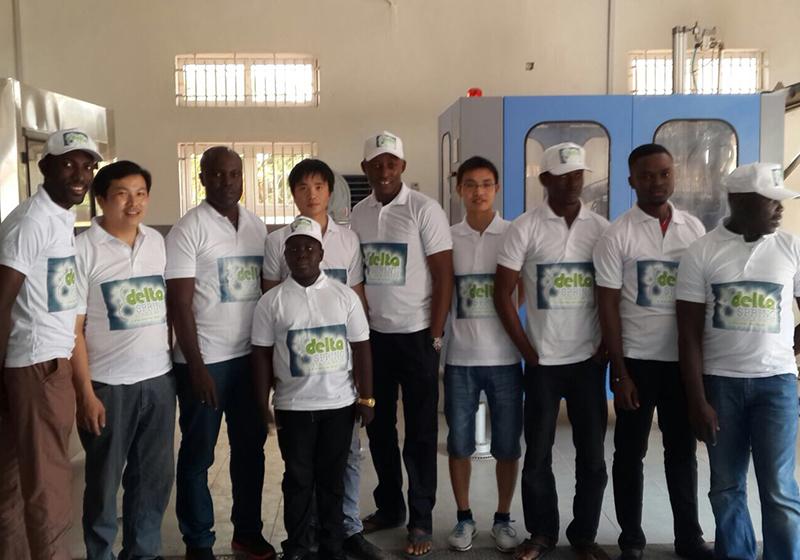 neptune engineer abroad installation water bottling line
