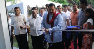 Sri-Lanka-President-Cut-the-ribbon-of-water-bottling-line
